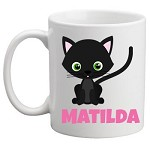 Personalised Kids Mug/Cup - Kitten