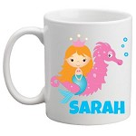 Personalised Kids Mug/Cup - Mermaid