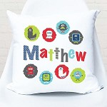 Monster Mash Personalised Custom Cushion