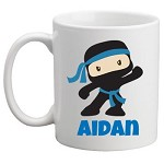 Personalised Kids Mug/Cup - Ninja
