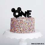 Mickey Ears Number Birthday Cake Topper