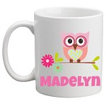Personalised Kids Mug/Cup - Owl