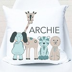 Baby Animals Personalised Cushion