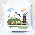 Personalised Transport Custom Cushion