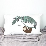 Personalised Sloth Pillowcase
