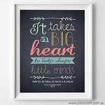 PRINT YOURSELF Big Heart Design  (Colour)