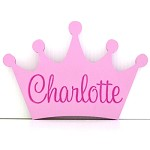 Personalised Engraved Wooden Shape - Crown