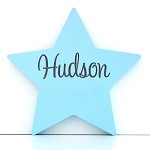 Personalised Engraved Wooden Shape - Star