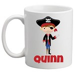 Personalised Kids Mug/Cup - Pirate