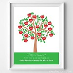 Print - Apple Teacher Tree