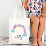 Personalised Rainbow Design TOTE Bag
