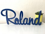 Wooden ROLAND Name