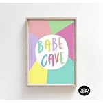INSTANT DOWNLOAD Print - Babe Cave