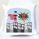 Superhero Personalised Custom Cushion