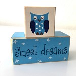 Sweet Dreams Nursery Blocks