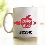 Personalised Teacher Mug  Teacher Tribe
