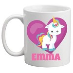 Personalised Kids Mug/Cup - Unicorn