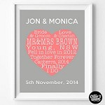 Love Heart Poster Print   - PRINT YOURSELF