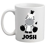Personalised Kids Mug/Cup - Zebra